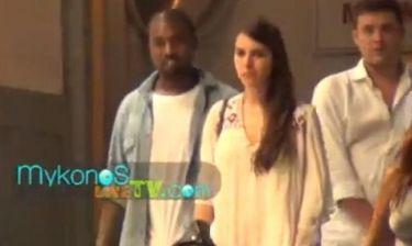 Τα νυχτοπερπατήματα του Kanye West στην Μύκονο!