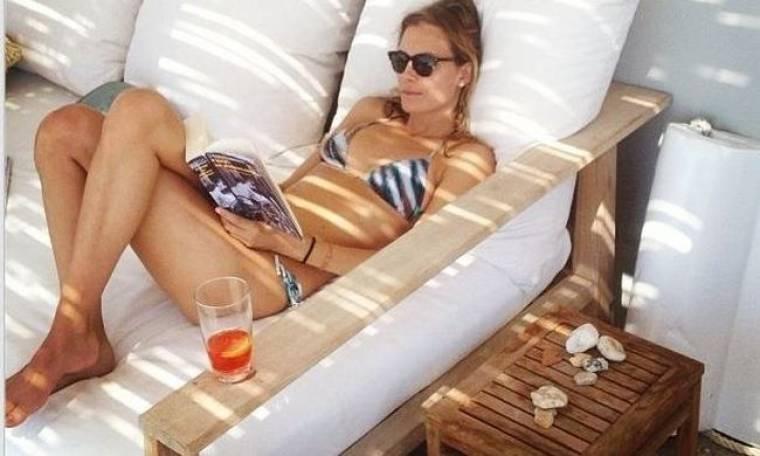 Relaxing για την Βίκυ Καγιά!