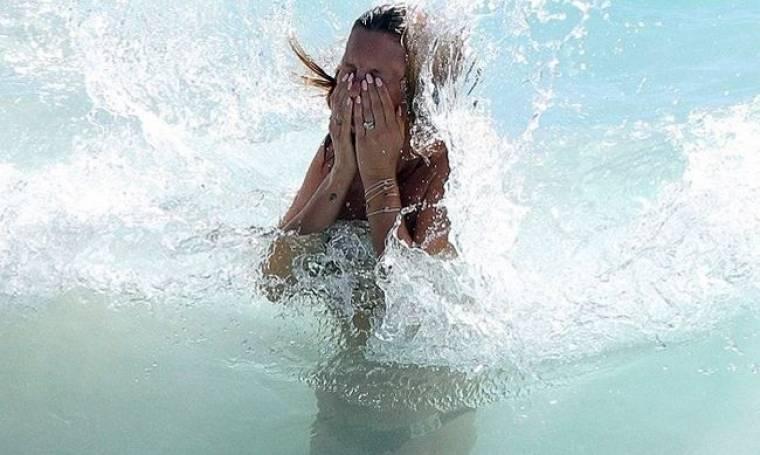 «Δελφίνι» το κορίτσι! (φωτό)