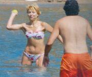 Τσαλίκη-Μπέζος: Παιχνίδια στη θάλασσα με το μπαλάκι τους! (φωτό)