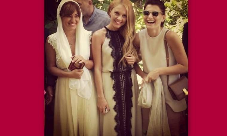 Η Τάμτα σε γάμο φίλης της στην Γεωργία!