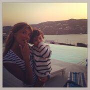 Σάντυ Κουτσοσταμάτη: Τρυφερές στιγμές με την κόρη της!