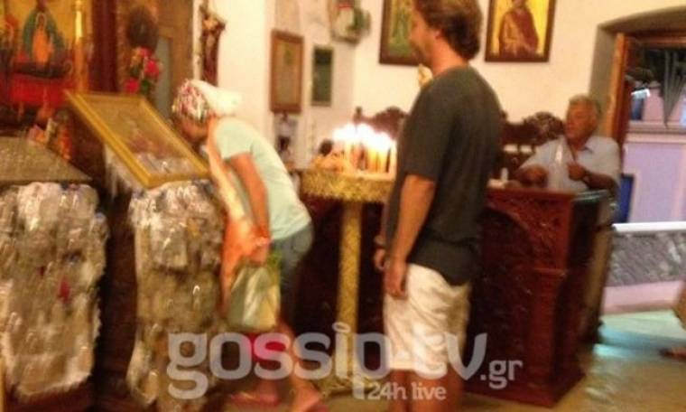 Αποκλειστικό: Δείτε εικόνες από το τάμα της Ελένης και του Ματέο για παιδί στην Κάρπαθο! (Nassos blog)