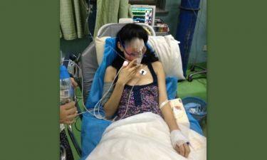 Φωτό από Νοσοκομείο: Μοντέλο του Next top model κατέρρευσε εξαιτίας του χωρισμού της. (Nassos blog)