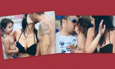 Φιλιά στις γυναίκες της ζωής του!