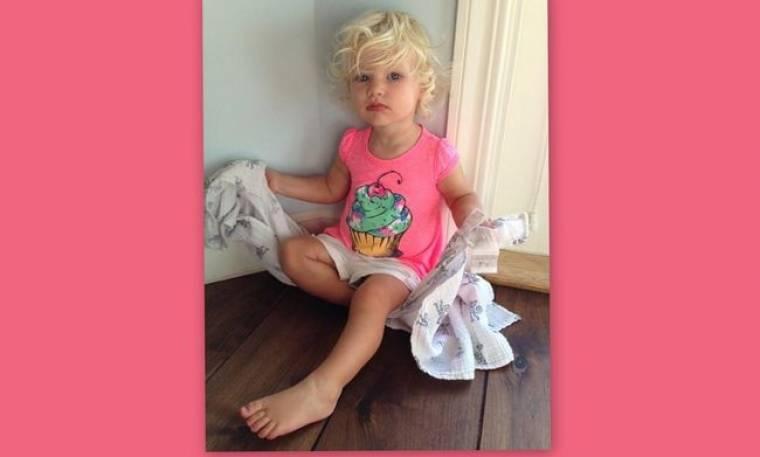 Αυτή είναι η μόλις 15 μηνών κόρη της… (φωτό)