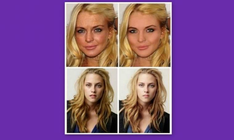 Πώς το photoshop μπορεί να γελοιοποιήσει ένα σταρ!