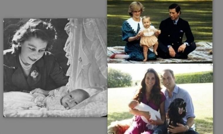 Βασιλικά πορτραίτα από τον πρίγκιπα Κάρολο έως τον νεότερο Τζορτζ Αλεξάντερ Λούι! (εικόνες)