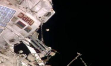 Βίντεο: Αστροναύτης της NASA κατέγραψε... UFO!