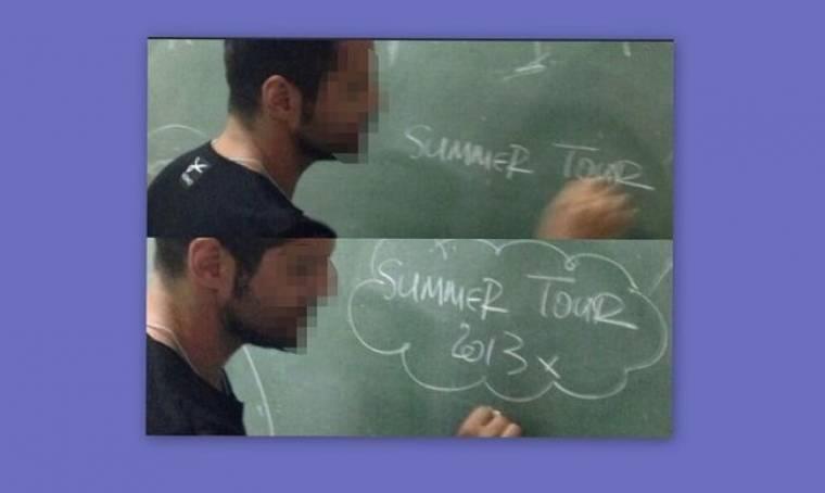 Γνωστός τραγουδιστής επέστρεψε στο σχολείο