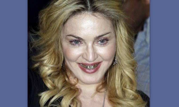 Αμάν! Η Madonna με ολόχρυσα σιδεράκια!