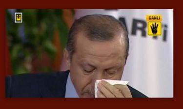 Ο Ερντογάν πλάνταξε στο κλάμα on air!
