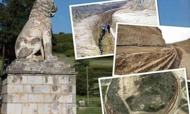 Σέρρες: Είναι αυτός ο τάφος του Μέγα Αλέξανδρου; Δείτε τις φωτογραφίες