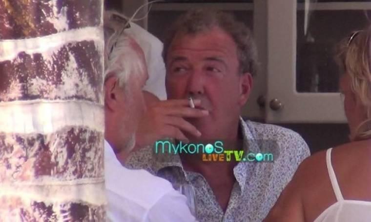 Στη Μύκονο και ο Jeremy Clarkson