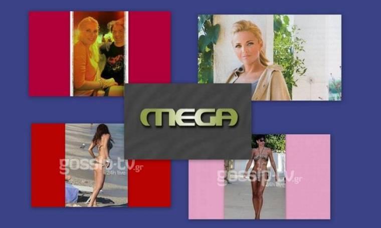 Η νέα τηλεοπτική στέγη της Λαμπίρη, η «στρουμπουλή» Μενεγάκη και το νέο «χτύπημα» για το Mega