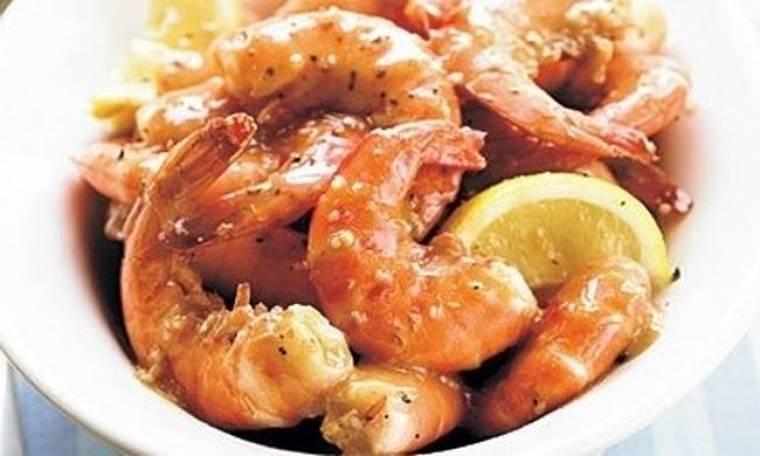 Βουτυράτες γαρίδες για το πιο πετυχημένο barbeque!