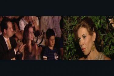 Ευγενία Μανωλίδου: Η οικογένειά της την καταχειροκρότησε στην τελευταία συναυλία της περιοδείας της
