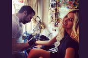 Η Κατερίνα Καινούργιου «χτύπησε» το πρώτο της tattoo!
