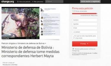 Παγκόσμια κατακραυγή για Βολιβιανό στρατιώτη που έβαλε στο facebook δολοφονημένο σκύλο!