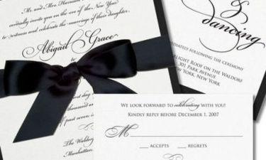 Προσκλητήρια γάμου: Τips για να επιλέξετε το καλύτερο σχέδιο!