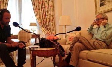 H συνάντηση του Νίκου Αλιάγα με τον Woody Allen!