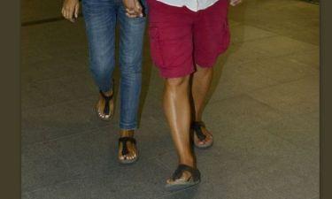 Ποιο ζευγάρι ηθοποιών είναι τόσο ερωτευμένο που κυκλοφορεί φορώντας τα ίδια παπούτσια;