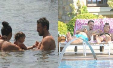 Οι διακοπές της «Χασρέτ» με τον «Λεβέντ» και τα παιδιά τους