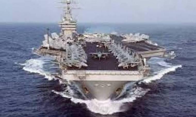 Αμερικανικό αεροπλανοφόρο πλέει προς τη Συρία