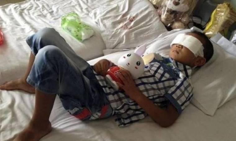 Κίνα: Ύποπτη η θεία του 6χρονου για την αφαίρεση των ματιών του