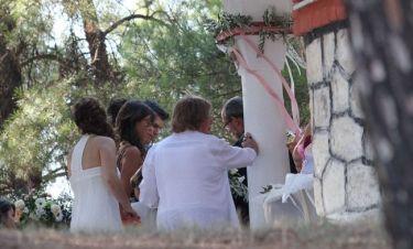 Οι πρώτες φωτογραφίες από τον κρυφό γάμο της Φωτεινής Δάρρα και το όνομα του γαμπρού