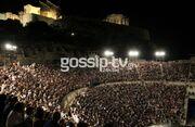 Οι επώνυμοι στο Ηρώδειο για το αφιέρωμα στη ζωή της Μελίνας Μερκούρη