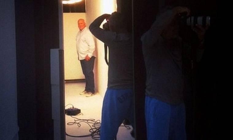 Backstage από την φωτογράφηση του Γιώργου Παπαδάκη για το «Πρωινό ΑΝΤ1»