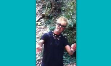 Δείτε το απολαυστικό βίντεο που «ανέβασε» ο Λάκης Γαβαλάς με πρωταγωνιστή τον ίδιο!