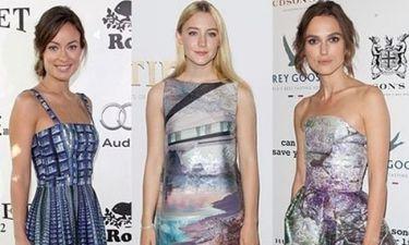 Olivia, Saoirse & Keira: 3 stars με Mary Katrantzou