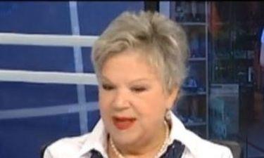 Η Τένια Μακρή στην Ελληνική Δημόσια Τηλεόραση