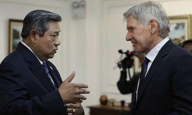Σοκαρισμένος ο υπουργός Γεωργίας της Ινδονησίας από τις ερωτήσεις του Harrison Ford
