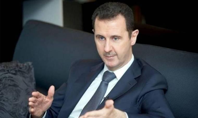 Έτοιμος να παραδώσει τα χημικά ο Άσαντ