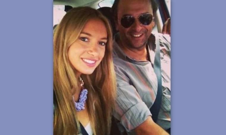 Άννα Πρέλεβιτς: Βόλτα με τον μπαμπά της!