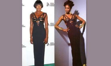 Ναόμι Κάμπελ: Εμφανίστηκε με το ίδιο φόρεμα που είχε φορέσει 21 χρόνια πριν!