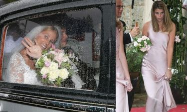 Η Αθηνά Ωνάση παράνυμφος στον γάμο της αδελφής της Σαντρίν! (φωτό)