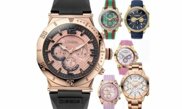 Breeze: Τα πιο στυλάτα ρολόγια, στα πιο cool χρώματα