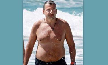 Ο Γιώργος Λιάγκας «λιώνει» στη γυμναστική!