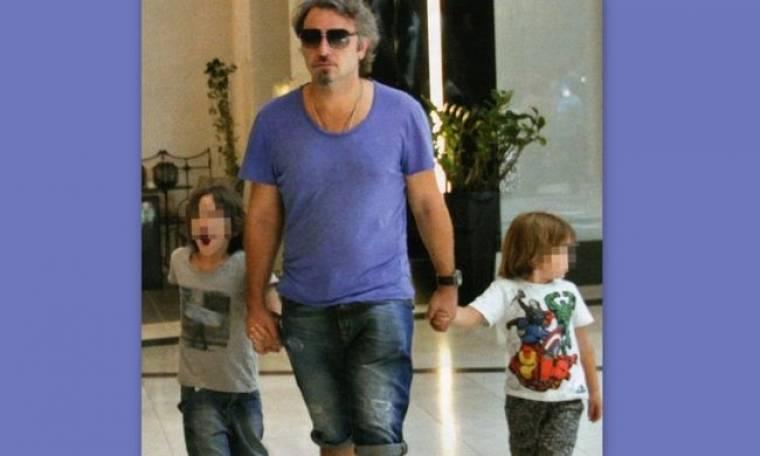 Φάνης Μουρατίδης: Βόλτα με τους γιους του