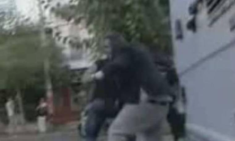 Το βίντεο της επίθεσης στον Πάνο Καμμένο