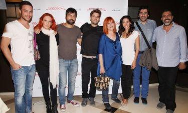 Με καροτσάκι η Κατερίνα Γκαγκάκη στην πρεμιέρα του «Μπρούσκο»