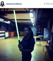 Με στιλ Star Wars γνωστή ηθοποιός!