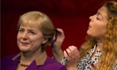Κέρινο ομοίωμα στο Μαντάμ Τυσώ του Βερολίνου η Μέρκελ