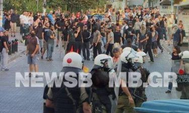 Ειδικός φρουρός πυροβόλησε στο αντιφασιστικό συλλαλητήριο