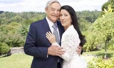 Ο πολυεκατομμυριούχος George Soros παντρεύτηκε στα 83 του για τρίτη φορά