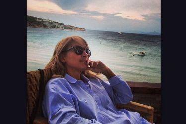 Μαρία Ηλιάκη: Χαλαρώνει στην «Ιθάκη» λίγο πριν την πρεμιέρα της εκπομπής